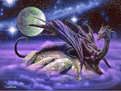 Dragon moon star purple (Lori Howe)