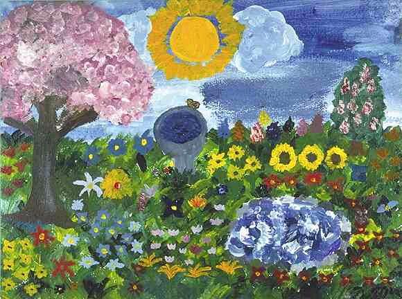 """Spring"" by Dara Moshanas age 12"