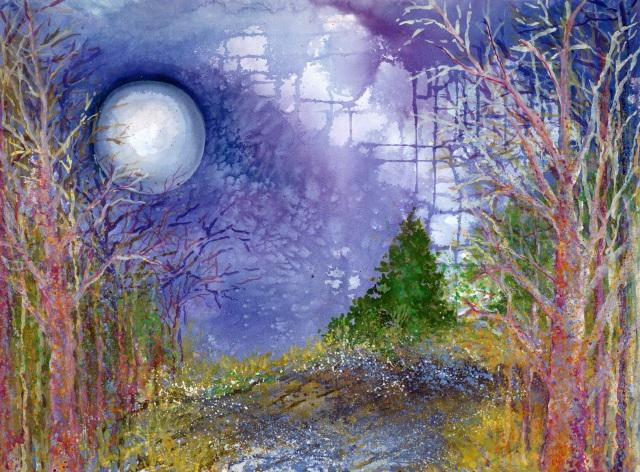 Full Frosty Moon