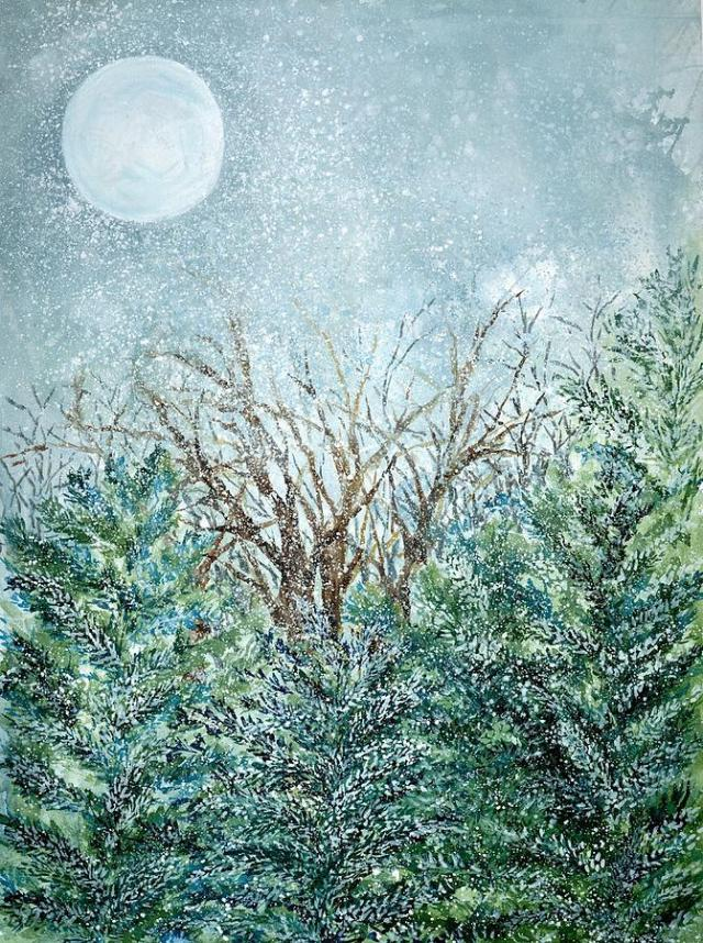 December Full Cold Moon (Robin Samiljan)