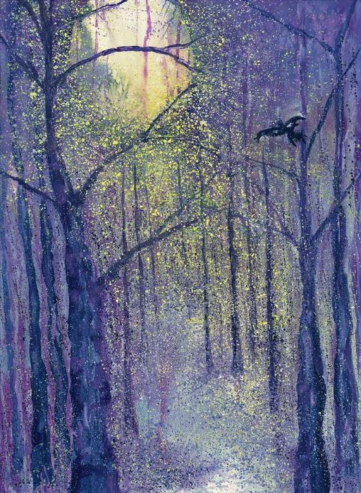 Crow Moon by Robin Samiljan