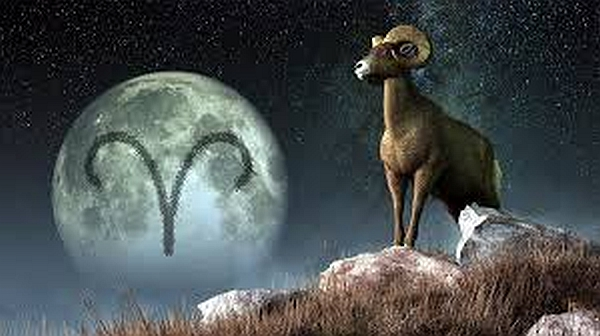 Image result for aries full moon ram
