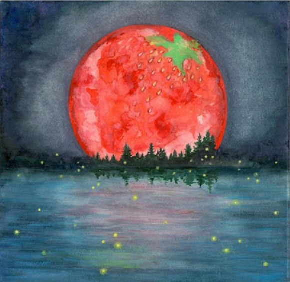 Strawberry Moon (Chakrology)