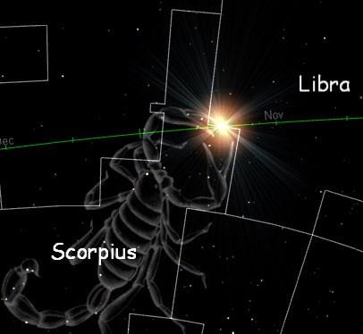 Sun in Scorpius (Bob's Spaces)