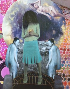 Gemini Full Moon (collage by Emily)