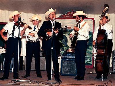 Bill Monroe and band