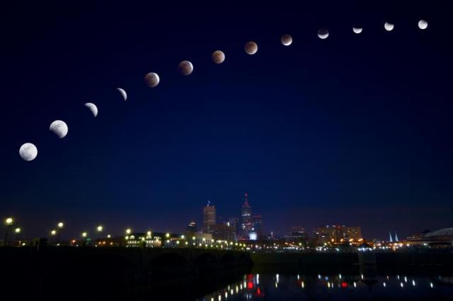 Lunar Eclipse Indianapolis