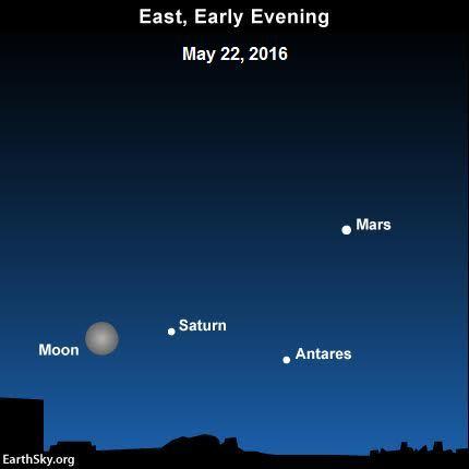 Night Sky May 22 (EarthSky)