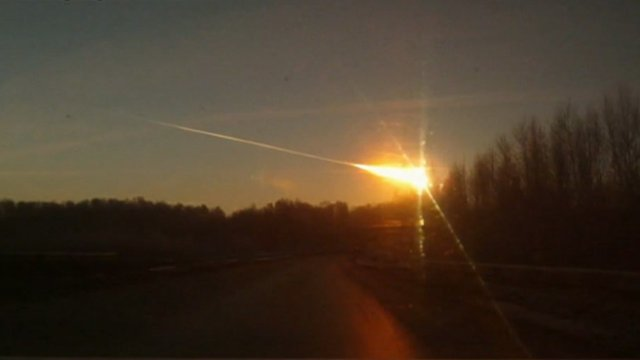Feb 15 Russian meteor -- brighter than the sun