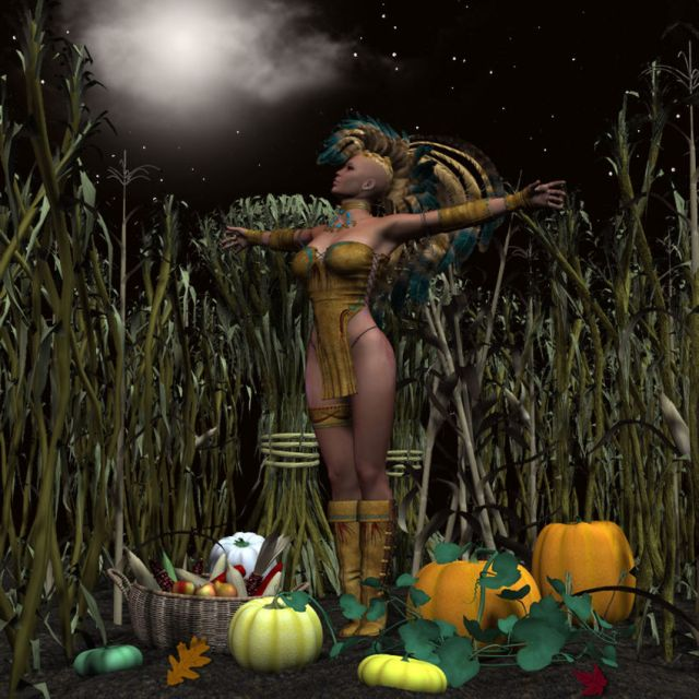 Har-Selu, Corn Mother, Goddess of the Harvest