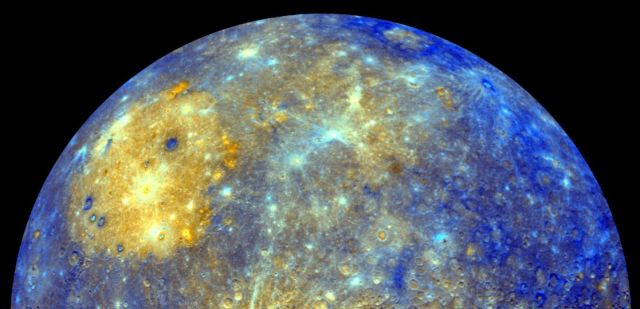 Closeup of planet Mercury (geek.com)