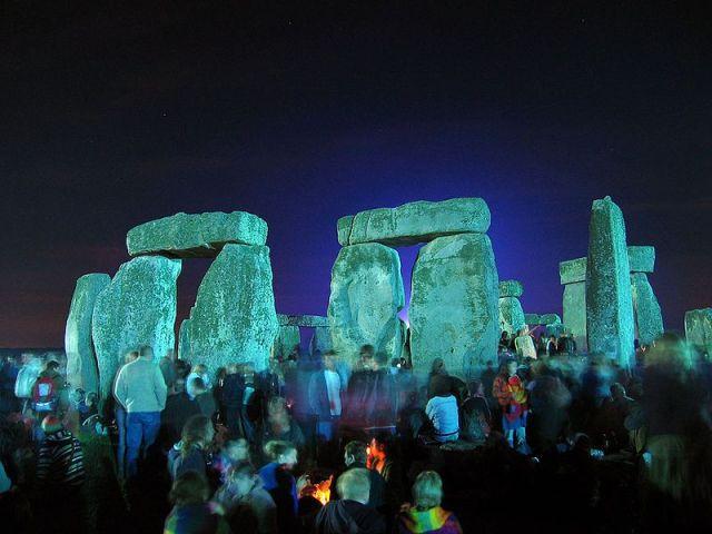 Summer solstice celebration at Stonehenge