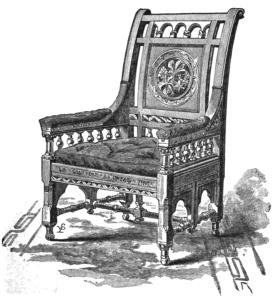 Longfellow's Chestnut Tree Chair