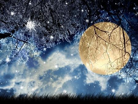 Golden Snow Moon