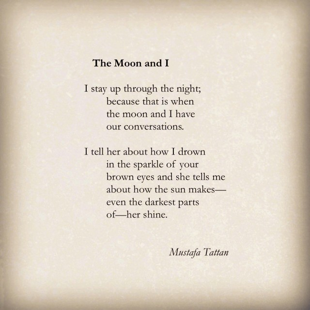 The Moon and I